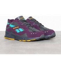 reebok classics aztrek sneakers lila/grå