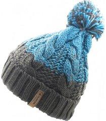 gorro de lana beanie gradient azul flaw