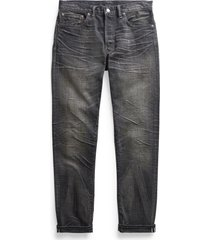 rrl slim fit selvedge jeans, size 31 x 32 in iron ore wash at nordstrom