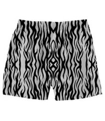 cueca samba canção animal print zebra masculina
