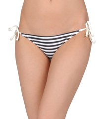 solid & striped swim briefs