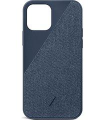clic canvas iphone 12 mini case - indigo