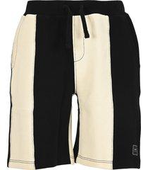ami bi-color track shorts