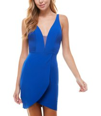 city studios juniors' bodycon dress