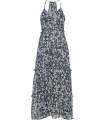 margaux maxi dress maxiklänning festklänning blå superdry