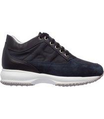 scarpe sneakers donna camoscio interactive
