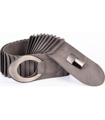 cinturón elástico escamas gris mailea