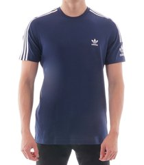 navy 3-stripes tee ed6117-tech