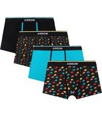 boxer 4 unidades design multicolor arrow