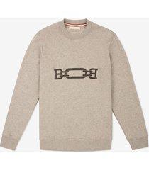 1851 sweater grey l