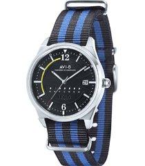 black and blue hawker hurricane watch