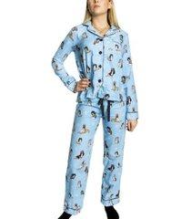 pj salvage chelsea fit flannel pyjama * gratis verzending *