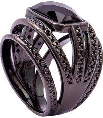 anel fane's onix preto