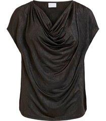 topp visnell drape neck s/s top