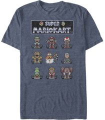 nintendo men's mario kart racers ready short sleeve t-shirt