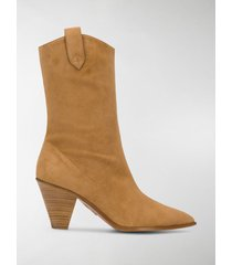 aquazzura saint honore' bootie 70