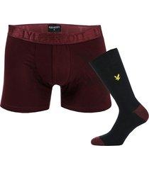 mens johnny boxer & sock gift set