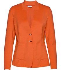 blazer long-sleeve blazers business blazers orange gerry weber