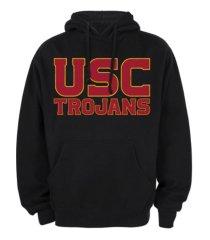 top of the world usc trojans men's big logo hooded sweatshirt