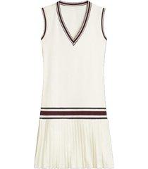v-neck tennis dress