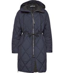 jacket kviltad jacka blå replay