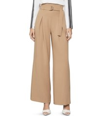 bcbgmaxazria belted paperbag pants