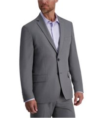 louis raphael stretch heather skinny fit suit separate jacket