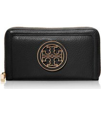 nwt tory burch amanda zip continental wallet