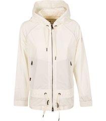 woolrich side zip hoodie