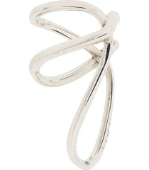 alan crocetti tangled ear cuff - silver