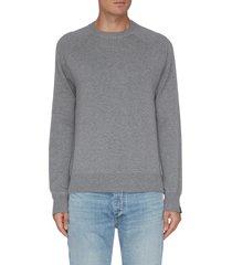 'harlow' wool cashmere blend raglan sweater