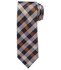 1905 collection diamond check tie clearance