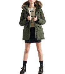 superdry women's everest parka coat