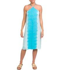 hurley dip-dyed midi dress