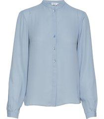 adele blouse blouse lange mouwen blauw filippa k
