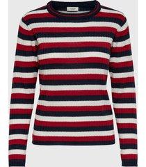 sweater jacqueline de yong multicolor - calce regular