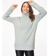 elevate mountain wool roll neck jumper