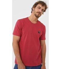 camiseta wrangler logo vermelha - kanui