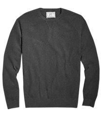 1905 collection tailored fit pique crew neck men's sweater - big & tall