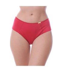 calcinha simony lingerie tanga alta balance vermelho