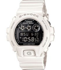 reloj g shock dw6900nb_7 blanco resina