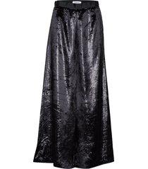eina velvet lång kjol svart rodebjer