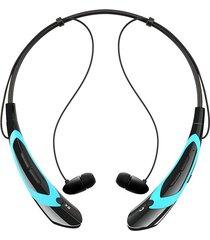 audífonos bluetooth manos, nuevos auriculares inalámbricos audifonos bluetooth manos libres  deportes auriculares estéreo para iphone samsung lg xiaomi auriculares teléfonos móviles de moda (azul)
