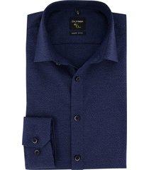 donkerblauw shirt sleeve 7 olymp no. 6