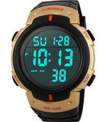 natación reloj deportivo skmei hombre led digital casual