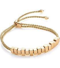 gold linear ingot friendship bracelet