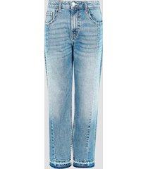 lössittande jeans - blå
