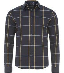 camisa masculina web wool touch - preto