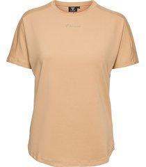 hmlreese t-shirt s/s t-shirts & tops short-sleeved gul hummel
