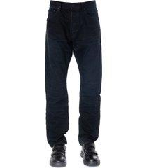 john elliott blue denim cotton jeans